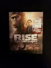 Rise Of The Planet Of The Apes Blu ray W/Slipcover No Digital Copy, Lot E2.
