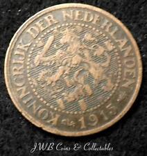 1915 Paesi Bassi 2 & 1/2 Centesimi Coin