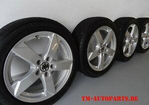 Alu Rial Kodiak 7x17 5x112 50787 + 215 50 R17 Winter - Audi Skoda VW Seat