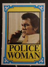 Monty Gum trading card 1977 TV Series: Police Woman