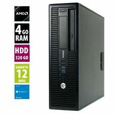 PC de bureau HP avec AMD A4