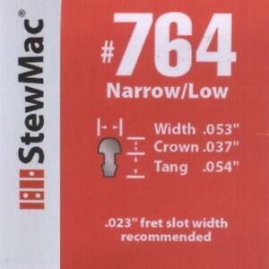 Narrow / Low Fret Wire (#764) 1ft, for Guitar / Banjo / Mandolin / Ukulele