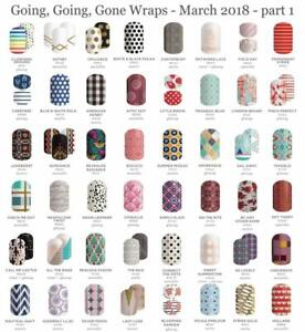 JAMBERRY NAIL WRAPS - GGG 2018 and MORE - FULL- HALF SHEETS