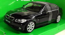Nex models 1/24 Scale 22465W BMW 330i Saloon Black Diecast model car
