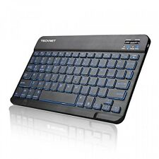 Backlit Bluetooth Keyboard, TeckNet Universal UltraSlim Portable Illuminated