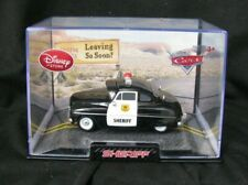 """Disney Store Die Cast PIXAR CARS ~ """"SHERIFF""""  ~ Brand New in Collector's Case"""