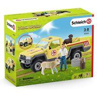 SCHLEICH 42503 - Farm World - Tierarztbesuch auf dem Bauernhof