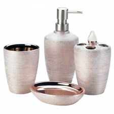 Pink Bath Accessory Sets For Sale Ebay