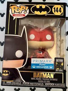 Funko Pop Batman 144 Batman Red Chrome DC Superheroes include Vinyl Figure