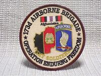 US ARMY 173RD AIRBORNE BRIGADE OPERATION ENDURING FREEDOM PATCH