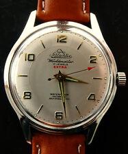 Atlantic Worldmaster Extra 37 mm Vintage Herren Armbanduhr 1960 Ungetragen NOS