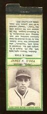 James O'Dea 1936 Diamond Matchbooks Green Cubs Ex 46237