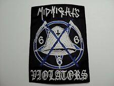 MIDNIGHTS  VIOLATORS  EMBROIDERED PATCH