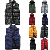 Fashion Men's Vest Sleeveless Outwear Waistcoat Jacket Coat