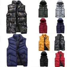 Fashion Men's Vest Sleeveless Outwear Waistcoat Jacket Coat