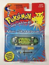 Pokemon Mini Skateboard Kakuna NOS XConcepts 1999 Nintendo Vintage