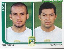 287 EDER PATINO / FELIPE AYALA CF.LEON MEXICO STICKER SUPERFUTBOL 2009 PANINI