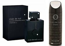 Armaf Club De Nuit Intense Men's EDT Perfume,105ml + 200ml Deodrant Body Spray