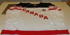 команда Канады 2015 мира среди юниоров L Хоккей Джерси иихф 100-юбилей белый