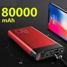Power Bank 80000mAh Quick Charge Dual USB