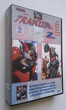 Tranzor Z U.S. English dub Dvd set Grendizer Great Mazinger Getter Robo Gaiking