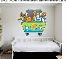 SCOOBY DOO MYSTERY MACHINE MASSIVE WALL STICKER POSTER