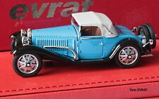 BUGATTI T55 cabriolet Billeter & Cartier #55206 1/43 EVRAT limit. 60 ex