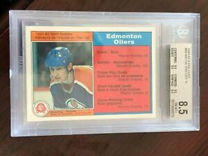 1982 O-Pee-Chee #99 Wayne Gretzky BVG 8.5 NM-MT+