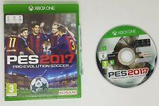 PES 2017 Pro Evolution Soccer Xbox One FAST FREE UK POSTAGE VGC