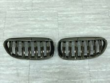 Front Kidney Hood Grille Black Chrome For '2004-'2010 BMW E63/E64/M6 Convertible