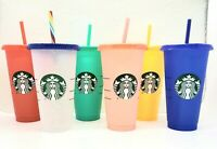 Starbucks Color Changing Summer Pride 2020 Reusable Venti Cold Cup Confetti