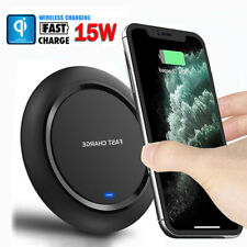 15W Fast QI Wireless Charger For iPhone 11 Pro Max Xs 8 Plus S10 S9 Charging Pad