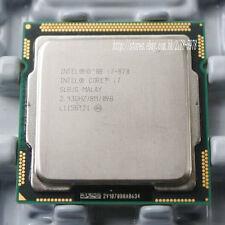 Intel Core i7-870 Quad Core 2.93 GHZ 8M Cache Socket 1156 SLBJG CPU Processor