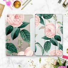 Roses iPad Air 2 3 2019 Smart Cover Floral Nature iPad 6 Pro 9.7 12.9 2018 Case