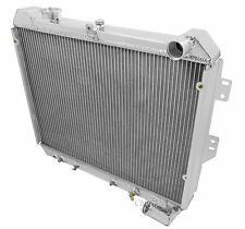 2 Row All Aluminum Champion Radiator DR for 1983 - 1985 Mazda RX-7