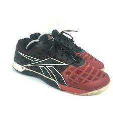 REEBOK Mens Crossfit Nano 3.0 Cross-Training Sneaker V47094 - Red Black - SZ 10