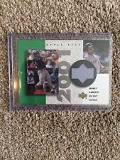 + + MANNY RAMIREZ 2002 UD GAME-USATO in jersey Baseball Card #RMR - Boston Red Sox + +