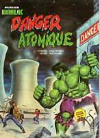HULK DANGER ATOMIQUE RARE ALBUM  AREDIT 1982