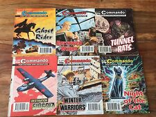 Commando comics book - Issue no: 2811 to 2816, 6 action stories comic books