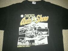 Chicago Auto Show 08 CELEBRATING 100 YEARS MENS XL SHIRT retro