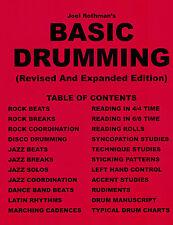 Joel Rothman's Basic Drumming (Revised & Expanded)
