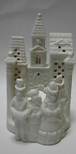 Partylite Po204 Village Carolers Tealight Candle Holder Christmas Holiday