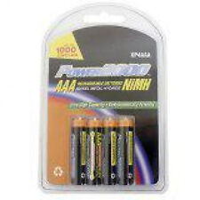 Power2000 4 Pack AAA NiMH Rechargeable Battery 1150mAh