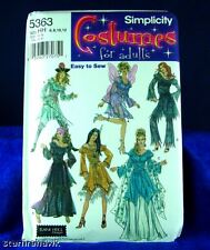 Simplicity 5363 Women 6 Fantasy Costume Pattern 6-12