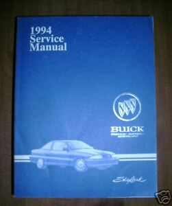 1994 Buick Skylar Service Repair Manual