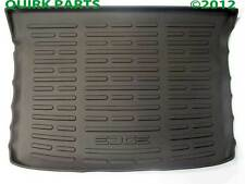 2011-2012 Ford Edge Cargo Area Tray Mat Protector Black GENUINE OEM BRAND NEW