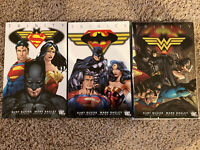 Batman Superman Wonder Woman TP Trinity Graphic Novel Lot Omnibus Vol 1 2 3