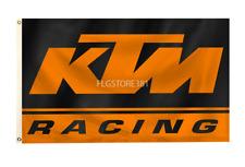 KTM Racing Flag Banner 3X5Ft Sportmotorcycle Wall Decor Flag Garage Workshop