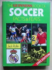 1982 edition Guinness Book Football The Guinness Book Of Soccer Facts & Feats