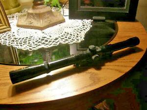 Vintage Original Glenfield Marlin .22 Rifle Scope W / Mount. 4x15 Early Model